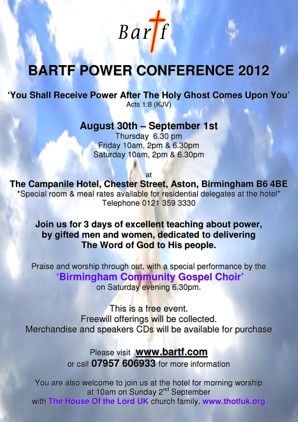 Power Conference 2012